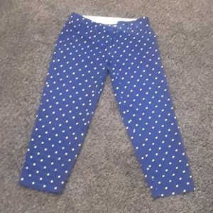 J crew spotted pants
